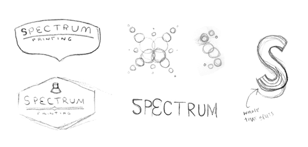 Spectrum logo concepts to explore