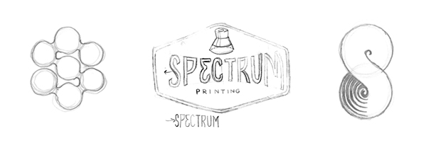 Spectrum logo tight pencils to explore