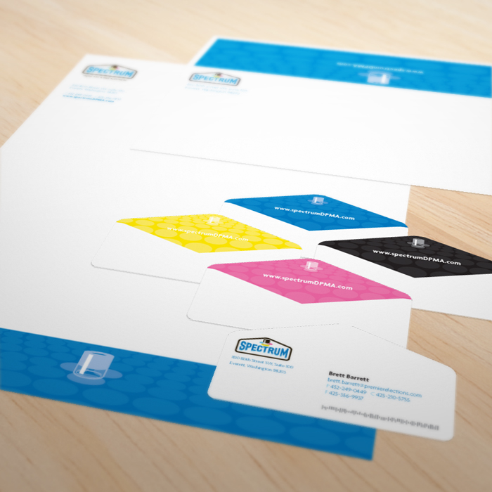 Spectrum stationery package